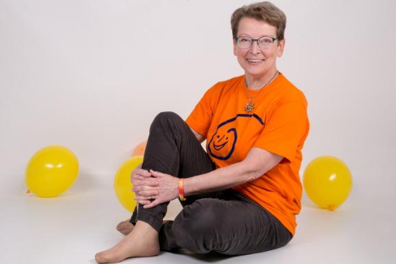 Gisela Dombrowsky Lachyoga Master Trainerin, Ansprechpartnerin Lachyoga, Lachen Meditation