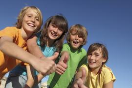 Lachyoga mit Kindern und Jugendlichen
